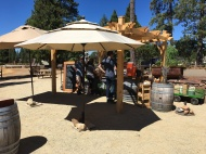 Sister Vineyard Rucksack Outdoor Tasting Station