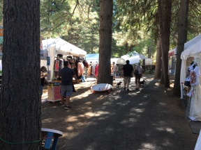 Craft Village in the trees